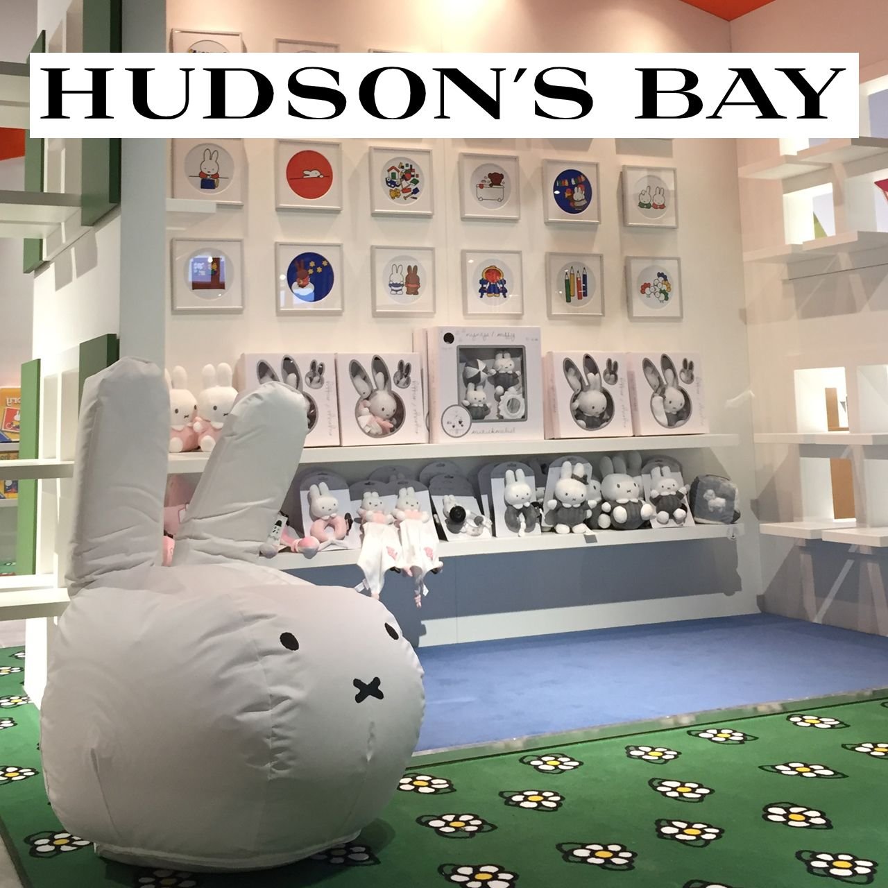 Gesichtet: Mr Maria im Hudson's Bay Geschäft