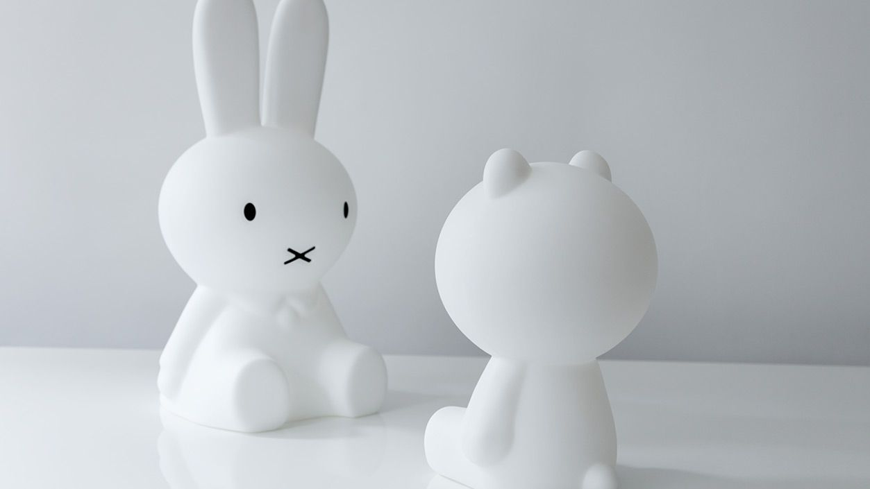 Mr Maria Miffy Lamp featured in book Little Big Rooms by Gestalten