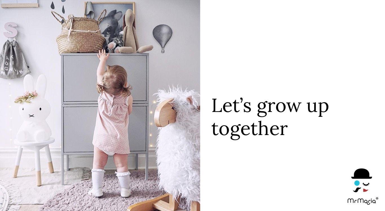 Mr Maria lets grow up together Miffy Original