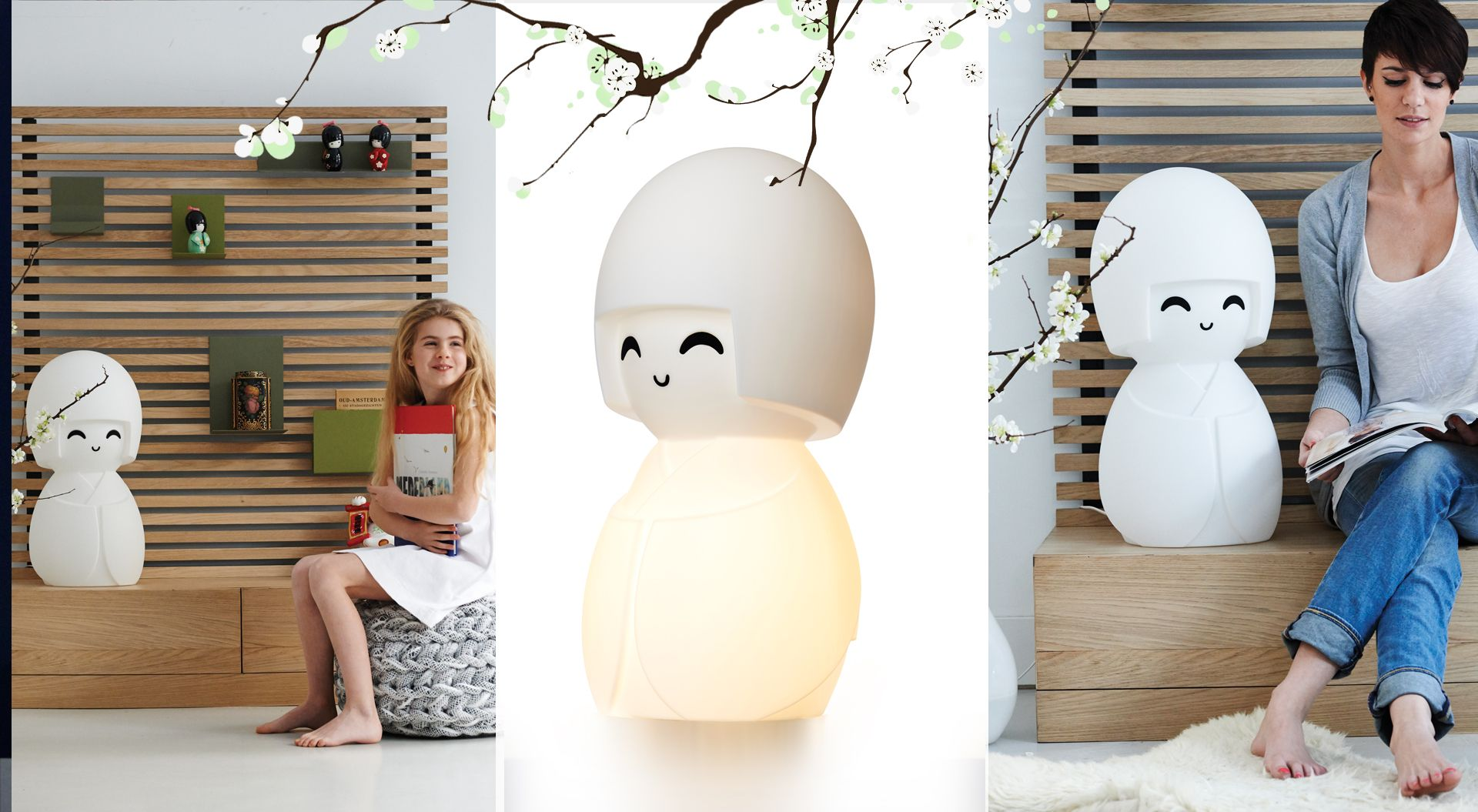 Mr Maria Kokeshi Lamp