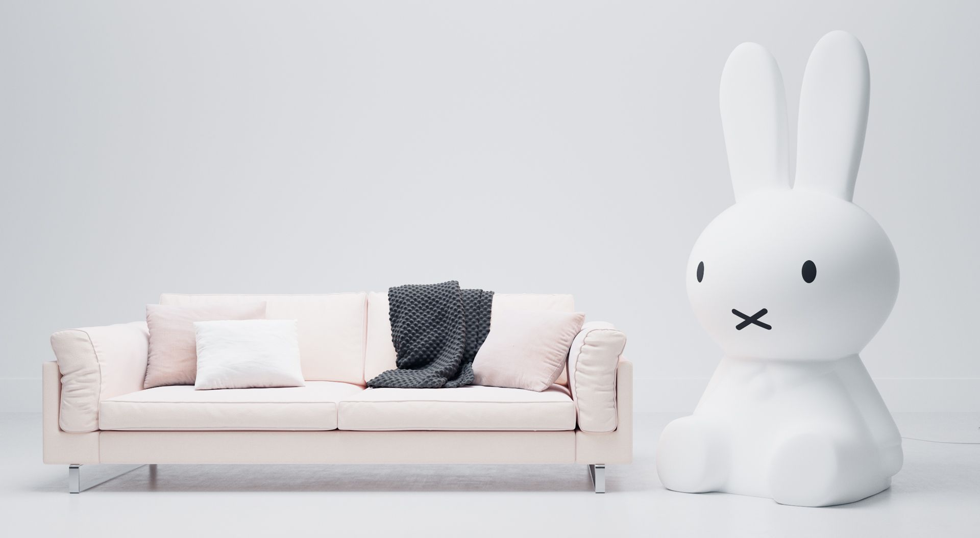 Miffy Icon the big friendly giant in your living room