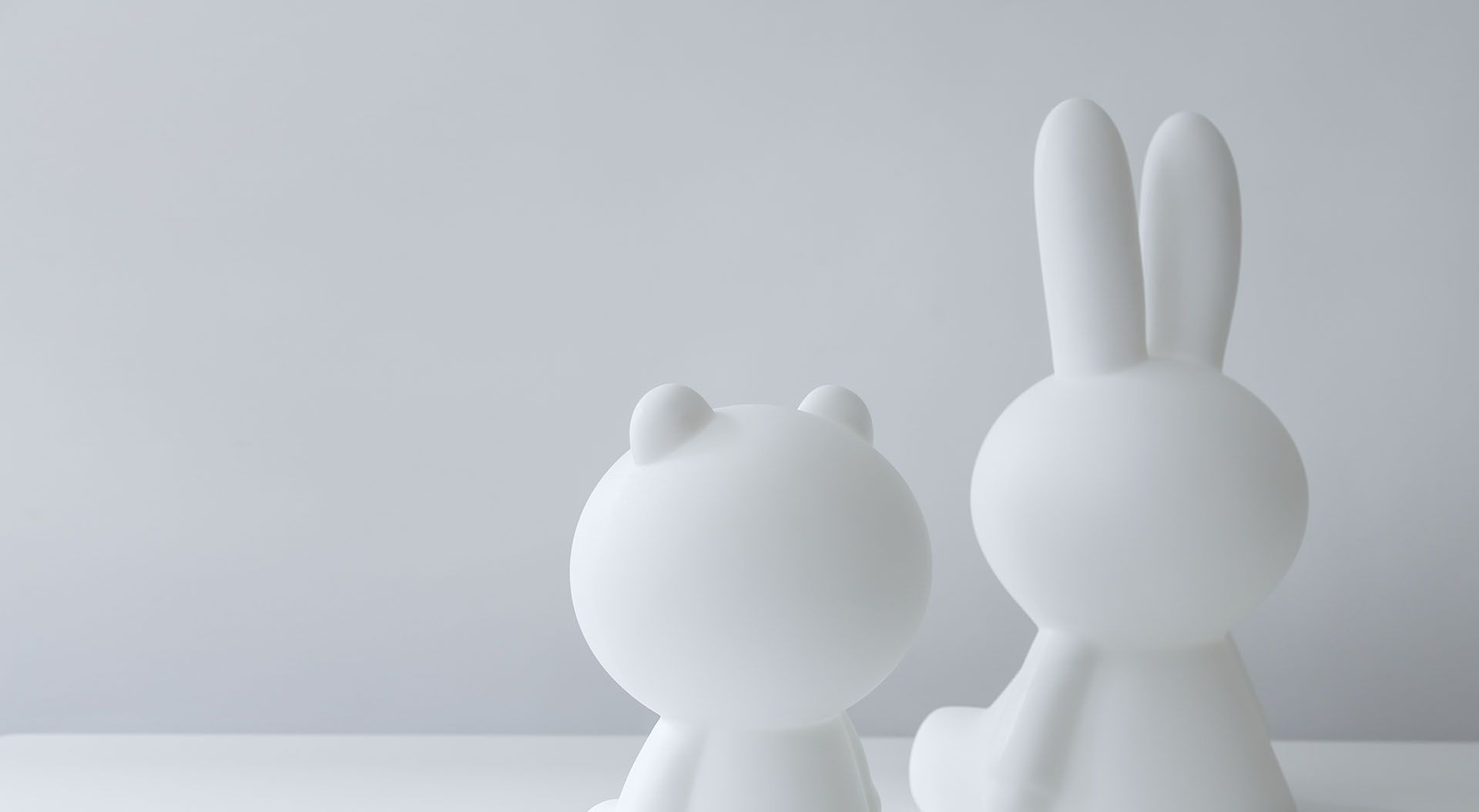 Brown and Miffy Lamp